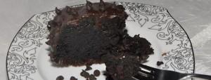 Mud cake…simply chocolate…prajitura decadenta