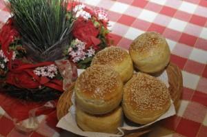 Chifle pentru hamburgeri – homemade