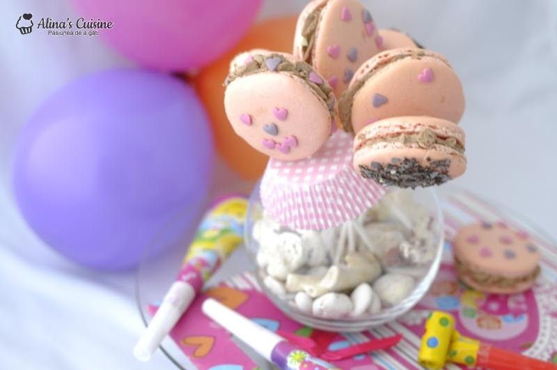 macarons cu crema kinder bueno 047