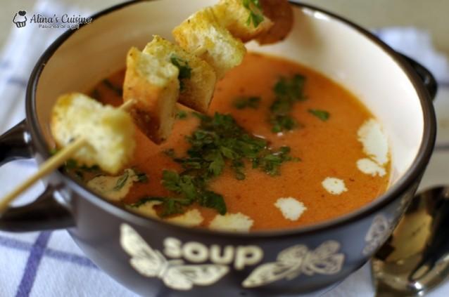 Supa de rosii proaspete