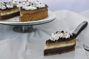 Cheesecake in trei culori si trei arome