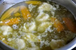 supa de rata cu galuste 020