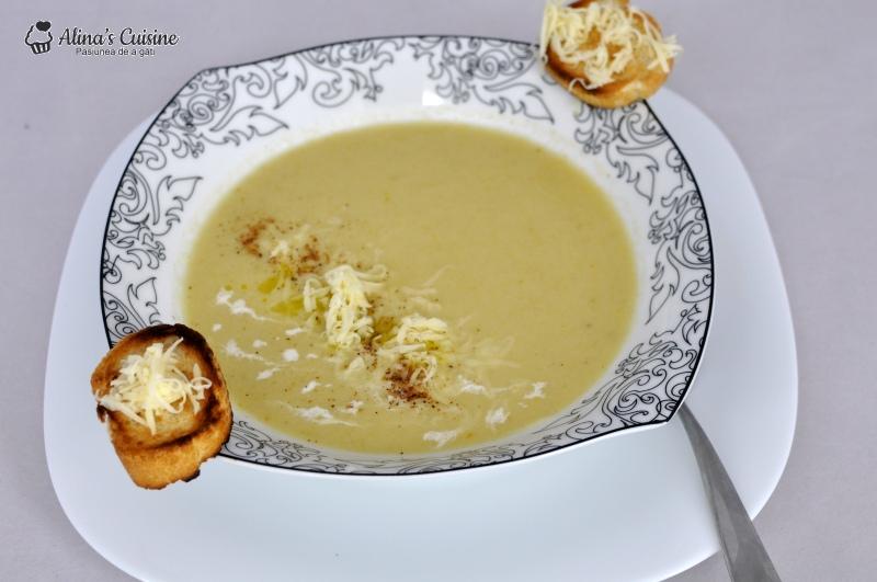 supa crema de praz 011