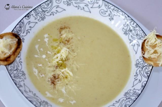 Supa crema de praz