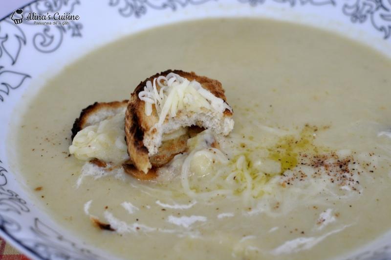 supa crema de praz 021