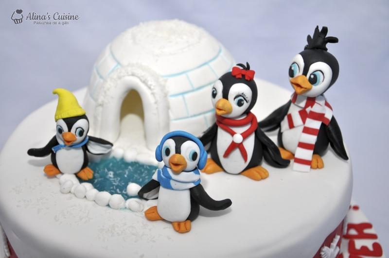 tort pinguini 010