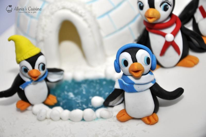 tort pinguini 012