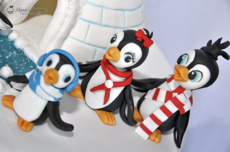 tort pinguini 028