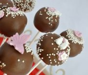 Cakepops cu ciocolata