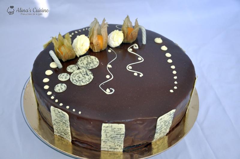 tort mousse au chocolat alinacuisine 105