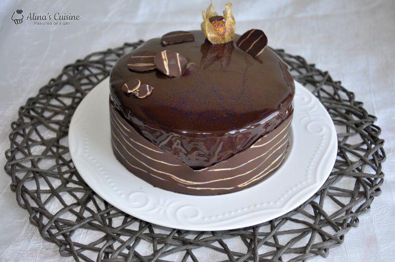 tort mousse au chocolat alinacuisine 201