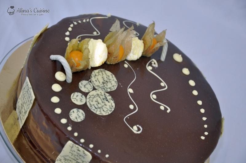 tort mousse au chocolat alinacuisine 98