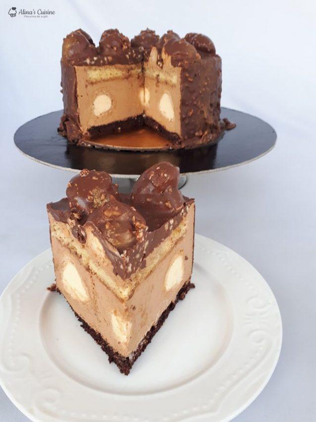 Tort Ecler Cu Mousse Caramel Si Glazura De Ciocolata Alinas Cuisine